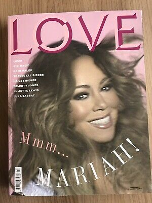 **mariah Carey - Lizzo - Rami Malek Uk Love Magazine Summer 2019** • 39.99£