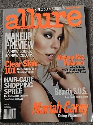 **mariah Carey Usa Allure Magazine September 2001- Excellent Condition** • 19.99£