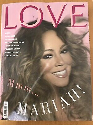 **mariah Carey - Lizzo - Rami Malek Uk Love Magazine 2019 - Minor Damage** • 19.99£