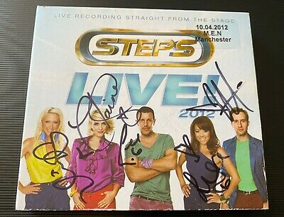 Steps Live! 2012 Signed Autographed CD (What The Future Holds) • 30£