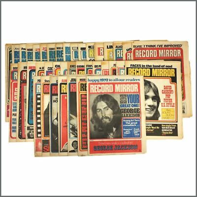 Record Mirror 1972 Collection (UK) • 610£