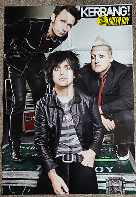 GREEN DAY - Large Fold-Out Poster - Kerrang - RARE! • 3.75£