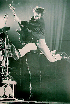 PETE TOWNSHEND / THE WHO - Classic Black & White Poster / Picture - RARE • 5.40£