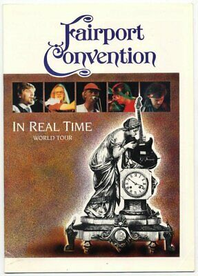 Fairport Convention 1988 Programme  • 25£
