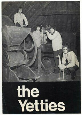 The Yetties 1973 Programme • 25£