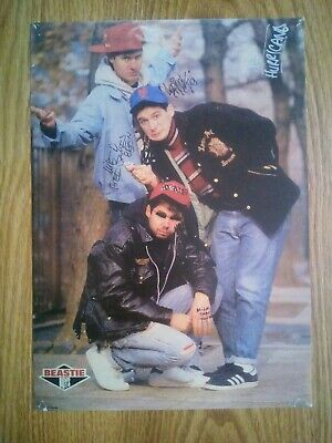 The Beastie Boys Signed Photograph A4 Repro/ / Print • 4.99£