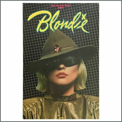 Blondie 1979 Eat To The Beat Chrysalis Promotional Poster (USA) • 275£