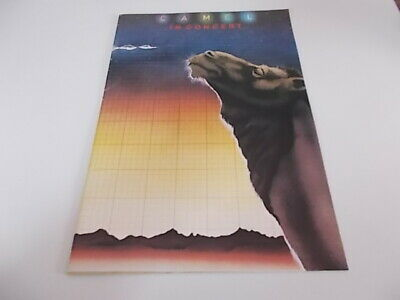 Camel Tour Programme And Ticket 1978 • 15£