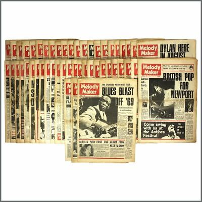 Melody Maker 1969 Collection (UK) • 690£