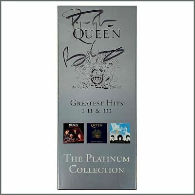 Brian May & Roger Taylor Autographed Queen The Platinum Collection Box Set (UK) • 500£
