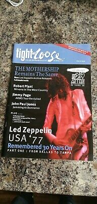 Tight But Loose Magazine Issue 18 Led Zeppelin Fanzine • 22£
