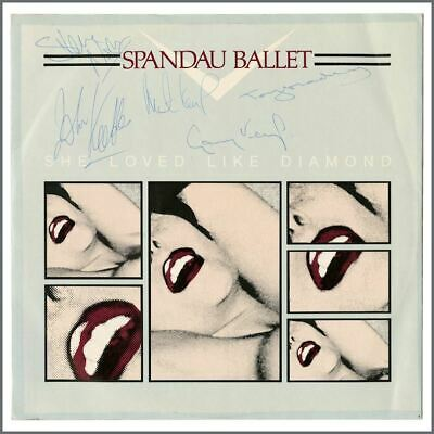 "Spandau Ballet Autographed 1982 She Loved Like Diamond 12"" Single (UK) • 275£"