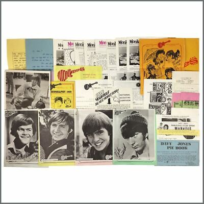 Monkees Fan Club 1960s Collection (UK) • 275£