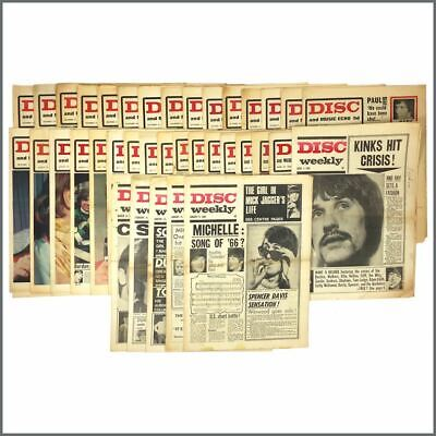 Disc Music Paper 1966 Collection (UK) • 385£