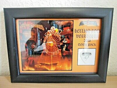 Helloween Hellish Rock 2008 Framed World Tour Guitar Pick Markus Grosskopf • 14.99£