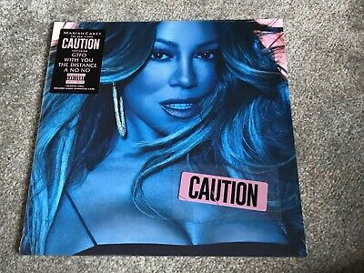 **mariah Carey Caution Vinyl Lp Sealed New Condition** • 35£