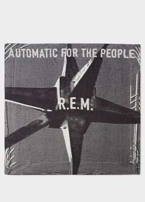 PAUL SMITH R.E.M. 'AUTOMATIC FOR THE PEOPLE' 25th ANNIVERSARY LARGE SCARF NWT • 69£