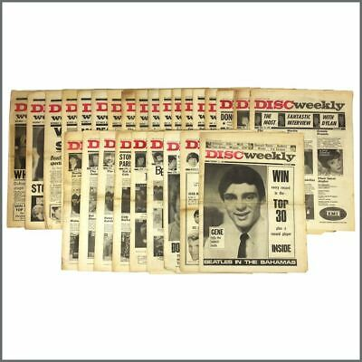 Disc Music Paper 1965 Collection (UK) • 255£