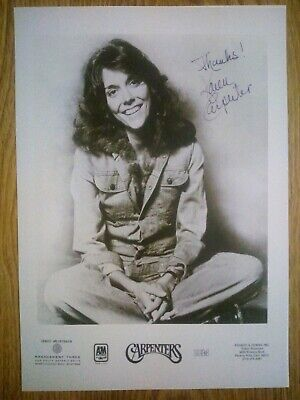Karen Carpenter / The Carpenters Signed Photograph Repro/Reprint A4 Print  • 4.99£