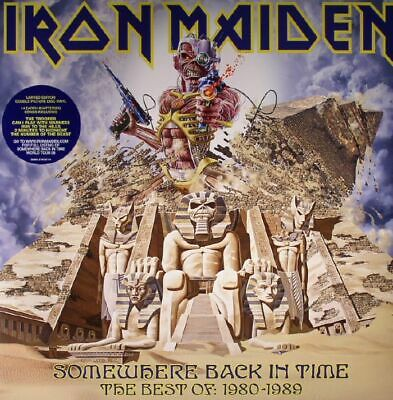 IRON MAIDEN - Somewhere Back In Time: The Best Of 1980-1989 - Vinyl (LP) • 24.39£