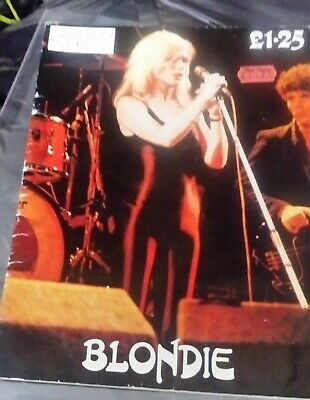Blondie Debbie Harry Fan Gift Book Collectable Rare • 15£