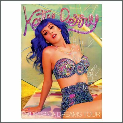 Katy Perry 2011/2012 Autographed California Dreams Concert Programme • 220£