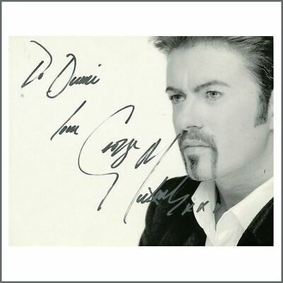 George Michael Autographed Photograph (UK) • 545£