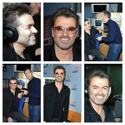 George Michael Photos, At Capital Radio 2005 • 3.99£