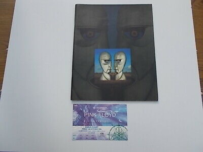 Pink Floyd 1994 Concert Programme And Earls Court Ticket • 28£