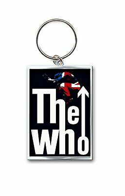 The Who Keyring Keychain Leap Band Logo New Official Metal One Size • 4.25£
