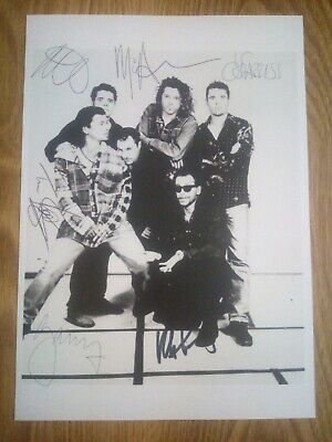 INXS / Michael Hutchence Signed Photograph Repro/Reprint A4 Print  • 4.99£