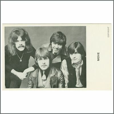The Move 1968 Promotional Card (UK) • 66£