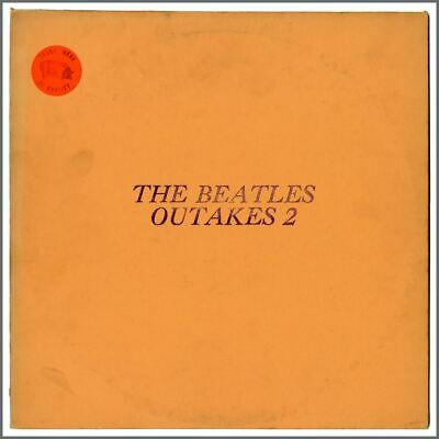 The Beatles Outtakes 2 Unofficial LP • 66£