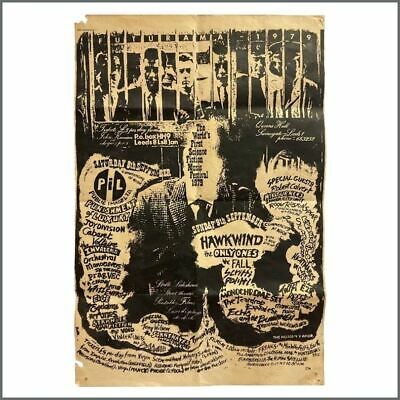 Joy Division 79 Futurama The World's First Science Fiction Music Festival Poster • 4,125£