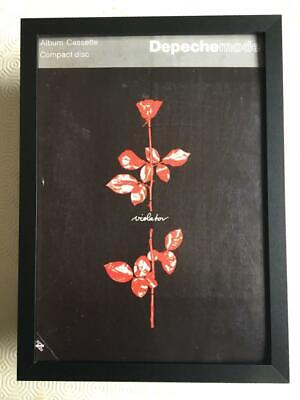 Depeche Mode Violator Framed A4 Advert • 16.75£