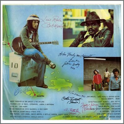 Bob Marley & The Wailers 1978 Autographed Babylon By Bus LP (USA) • 7,645£
