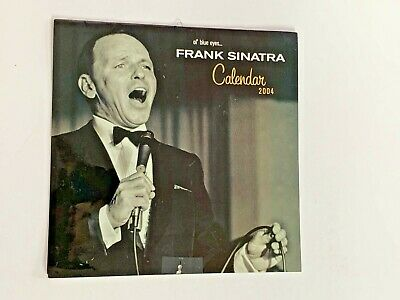 **frank Sinatra Official Uk Annual Calendar 2004 Pre-owned** • 9.99£
