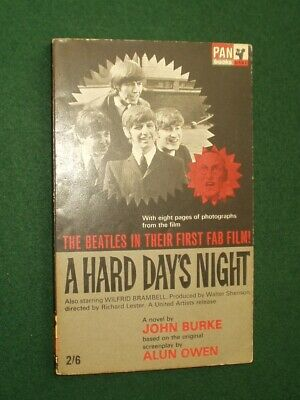 A Hard Day's Night By John Burke 1st Edition Paperback Book • 10£