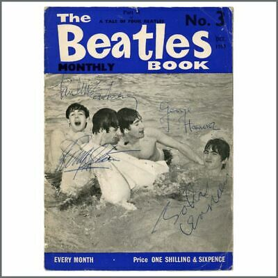 The Beatles Autographed Beatles Monthly Book 1963 (UK) • 18,150£
