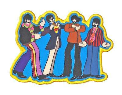 The Beatles Patch Yellow Submarine Sub Band New Official Embroidered Iron On • 3.95£