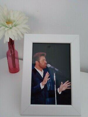 George Michael Framed Photo • 4.20£