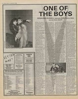Girl Interview/article 1980 • 11.77£