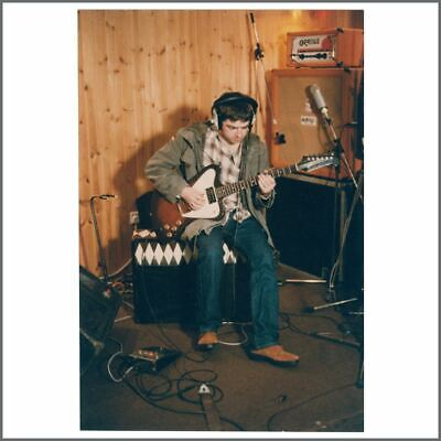 Oasis Noel Gallagher 95 Some Might Say Recording Signed Photo (UK) • 105£