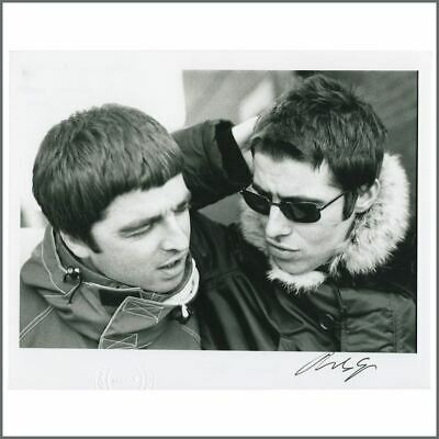 Oasis Liam & Noel Gallagher 97 D'You Know What I Mean? Signed Photo (UK) • 105£