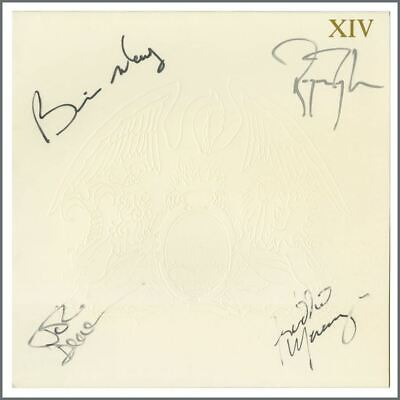 Queen 1985 Autographed LP Works XIV Record Sleeve (UK) • 6,050£