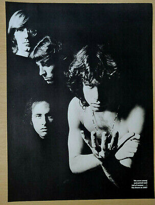 The Doors / Jim Morrison - Classic Full-Page Magazine Picture / Poster  • 4.50£