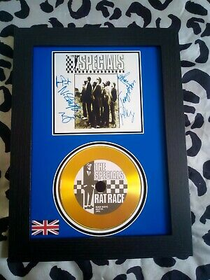 The Specials / Ska / Two Tone A4 CD Picture Disc Montage In Black Frame *NEW* • 16.99£