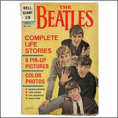 The Beatles 1964 Dell Giant Comic Book (UK) • 45£