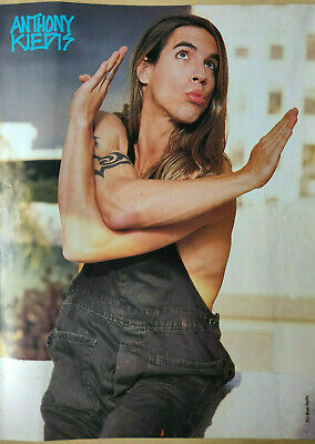 Anthony Kiedis / Red Hot Chili Peppers - Vintage Poster - Early 1990's - RARE! • 4.50£