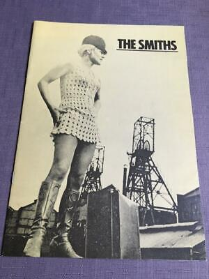 The Smiths Tour Programme  Meat Is Murder UK Tour 1985 Morrissey Ref 1 • 45£